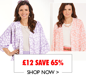 Kimono Blouse With Piping Now £12