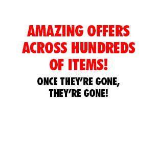 Amazing offers across hundreds of items