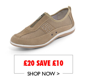 Cushion Walk Real Suede Shoe From £20