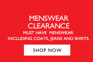 Menswear Clearance