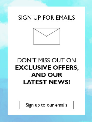 Sign up to our emails
