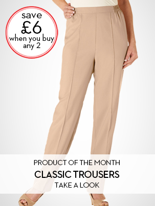 Ladies Classic Trousers