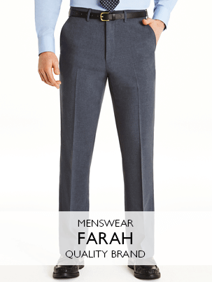Mens Farah Trousers