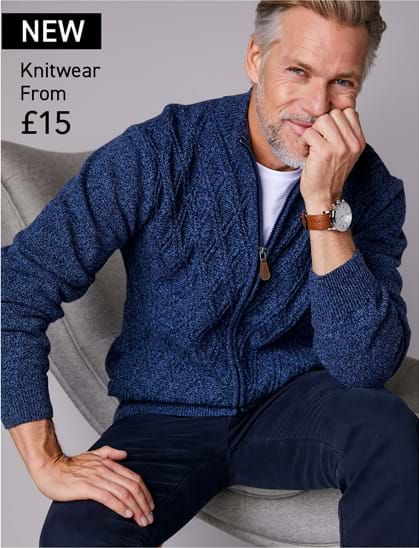 Shop Mens Knitwear