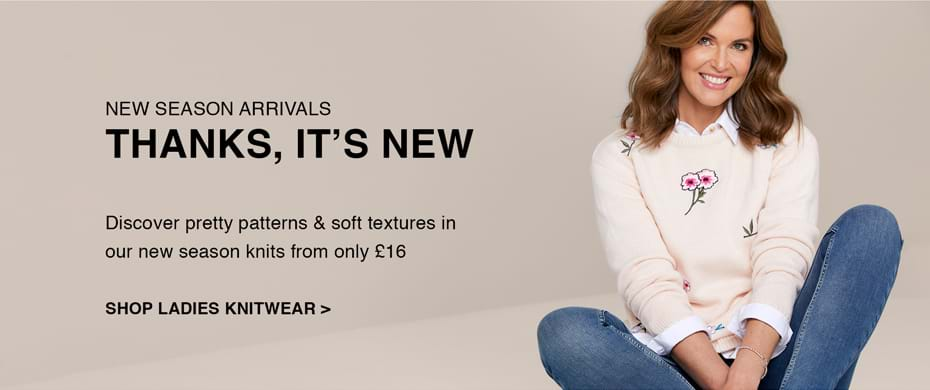 Shop Ladies Knitwear