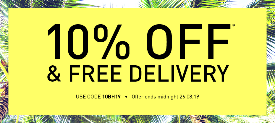 10% off and free delivery