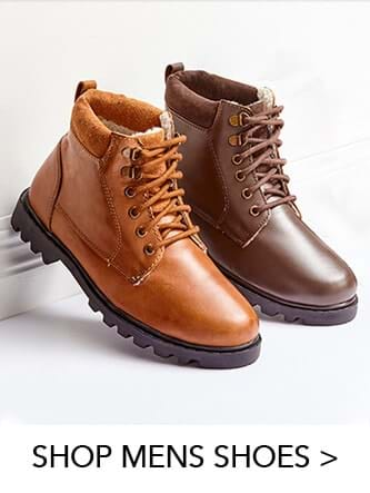 Click here to shop our mens footwear