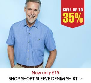 Shop Short Sleeve Denim Shirt