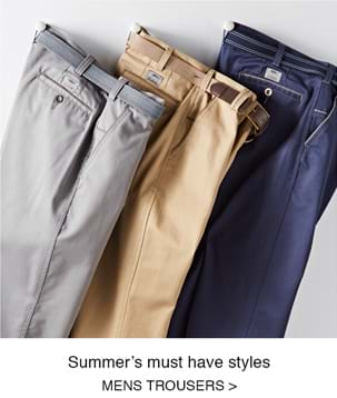Shop Men's trousers