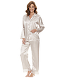 Luxury Satin And Lace Pyjama