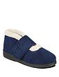 Ladies Padders Wide Fit Boot Slipper