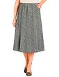 Ladies Tweed Effect Skirt 25 Inches