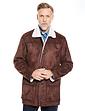 Mock Sheepskin Carcoat