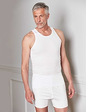 PACK OF TWO ALL COTTON SINGLETS