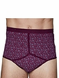 Pack of 3 of Print High Rise Briefs