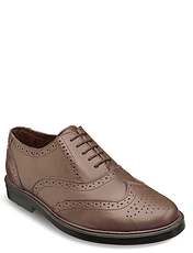 GENUINE LEATHER BROGUE SHOES