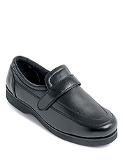LINCOLN REAL LEATHER ADJUSTABLE COMFORT SHOE