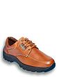 Mens Leather Lace Walking Shoe