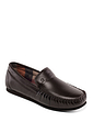 Padders Marino Leather G Fit Slipper With Memory Foam