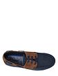 Dr. Keller Wide Fit Lace Canvas Boat Shoe