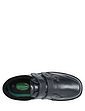 Cushion Walk Wide Fit Twin Touch Fasten Shoe With Gel Pad