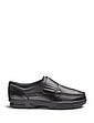 Mens Dr Keller Texas Wide Fit Leather Shoe