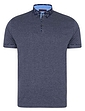 Lizard King Short Sleeve Polo With Printed Button Down Collar