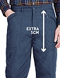 Fleece Lined High Waist Action Trouser