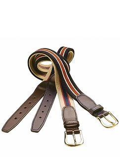 Pack Of 2 Elasticated Belts