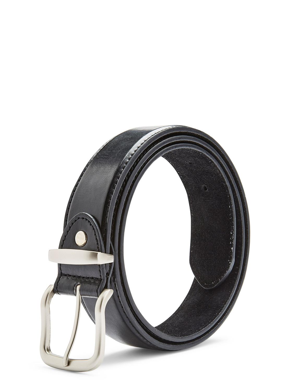 1.5 Inch Bonded Leather Belt