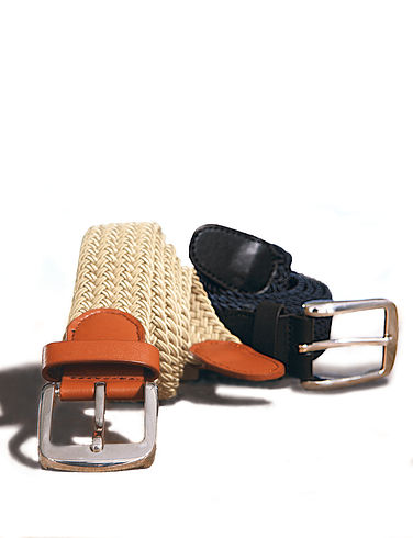 Pack Of 2 Stretch Belts