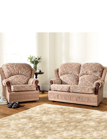 Chorlton Two Seater Settee Plus 2 x Chair Suite