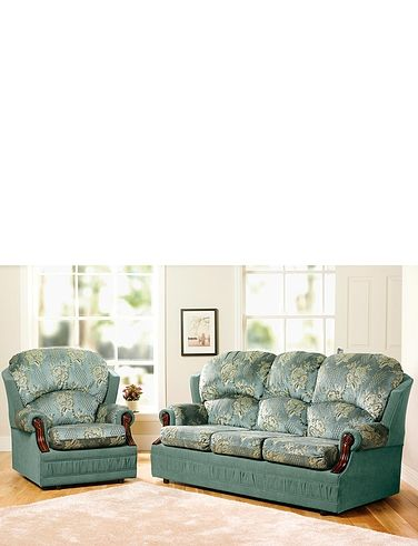 Chorlton Three Seater Settee Plus 2 x Chair Suite
