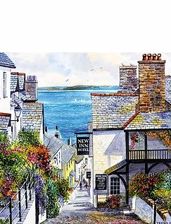 Boxed Set Of 2 x 1000Pc Clovelly Jigsaw Puzzles