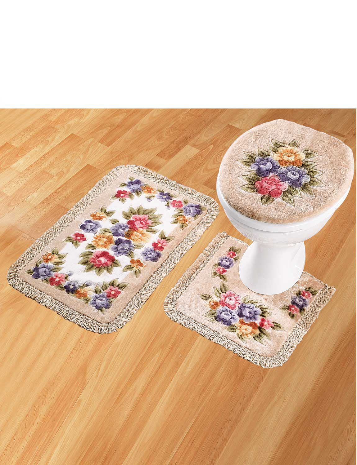 Bathroom Mat Set Home Bathroom