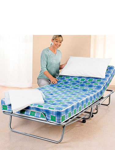 Deluxe Foldaway Bed with 5 Mattress