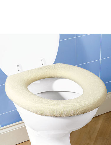 FLEECE TOILET SEAT COVERS Home Bathroom