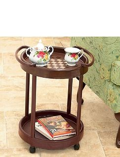Rolling Side Table