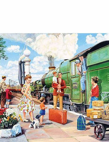 The Train Driver 500Pc Jigsaw Puzzle