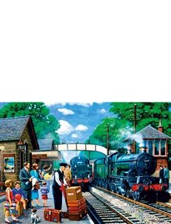 1000pc Jigsaw Puzzle Steam Express