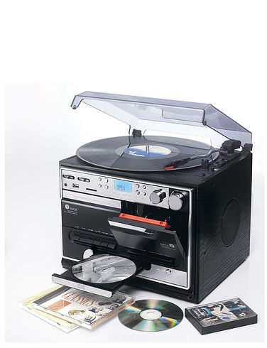 Full Function Stereo Stack System With Twin Cassette And Digital Record