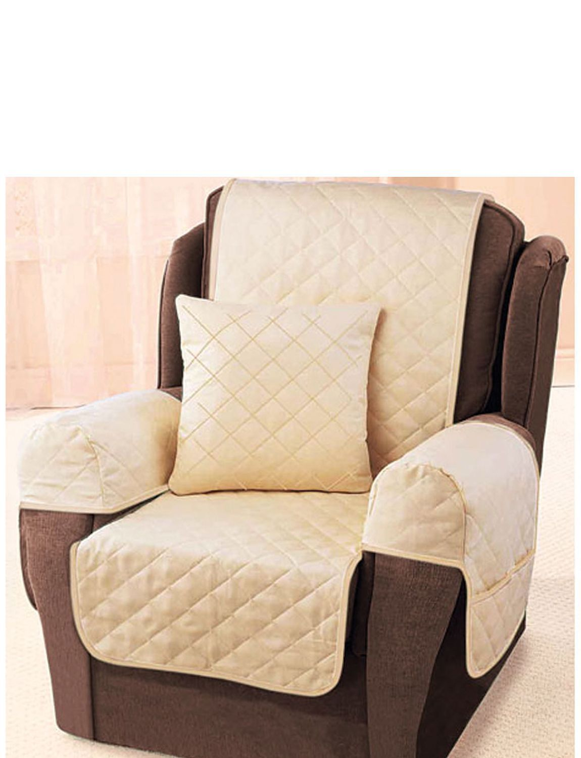 Chair Furniture Protector quilted chair protector & cover - washable | chums