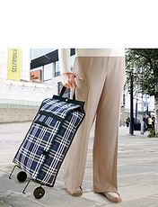 Fold Away Trolley Bag