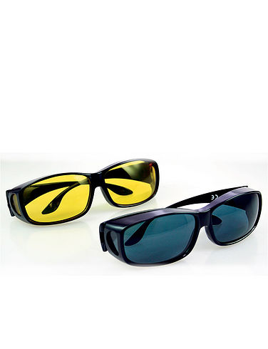 Wrap Around HD Polarised Sunglasses