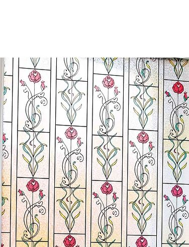 INSTANT STAIN GLASS WINDOW - MACKINTOSH