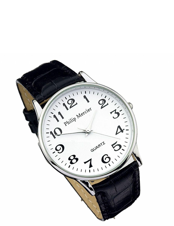 mens white face classic quartz watch lifestyle jewellery watches mens white face classic quartz watch