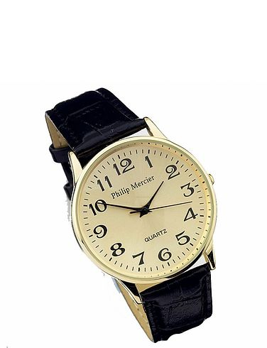 Ladies White Face Classic Round Quartz Watch