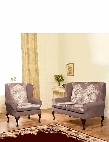 Cottage Two Seater Settee And Two Chair