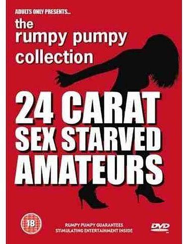 ADULT DVD - 24 CARAT SEX STARVED AMATEURS