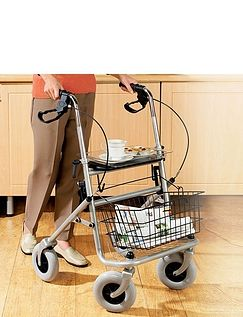 Four-Wheel Indoor & Outdoor Rollator